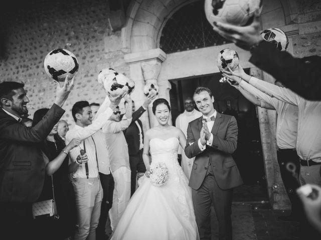 Le mariage de Eunjung et Guillaume à Ars-sur-Formans, Ain 9