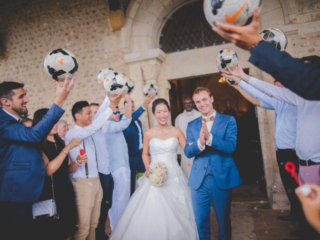 Le mariage de Eunjung et Guillaume à Ars-sur-Formans, Ain 10