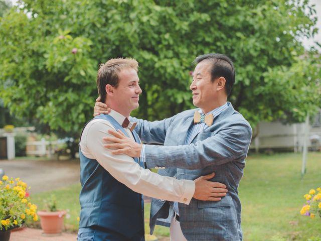 Le mariage de Eunjung et Guillaume à Ars-sur-Formans, Ain 17