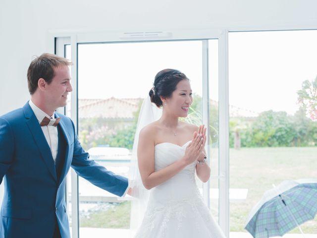 Le mariage de Eunjung et Guillaume à Ars-sur-Formans, Ain 18