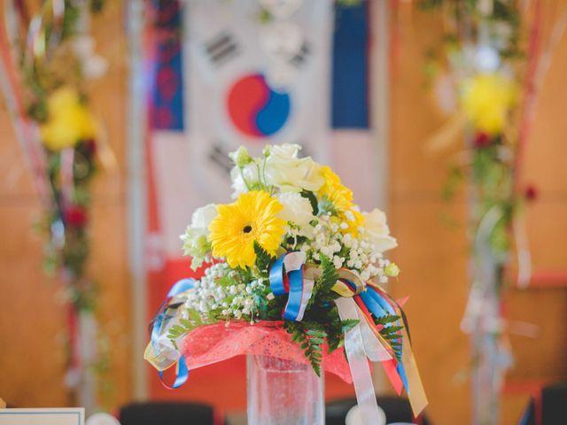 Le mariage de Eunjung et Guillaume à Ars-sur-Formans, Ain 20