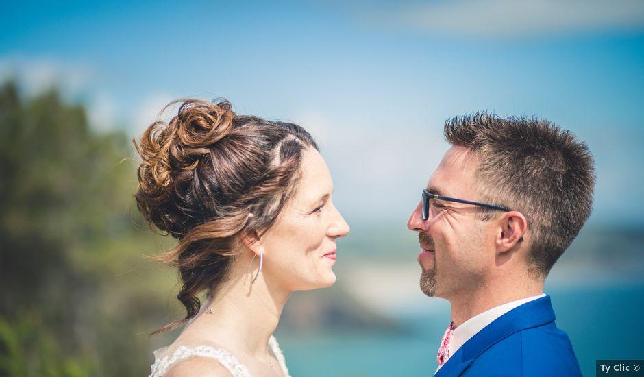 Le mariage de Olivier et Emmanuelle à Crozon, Finistère