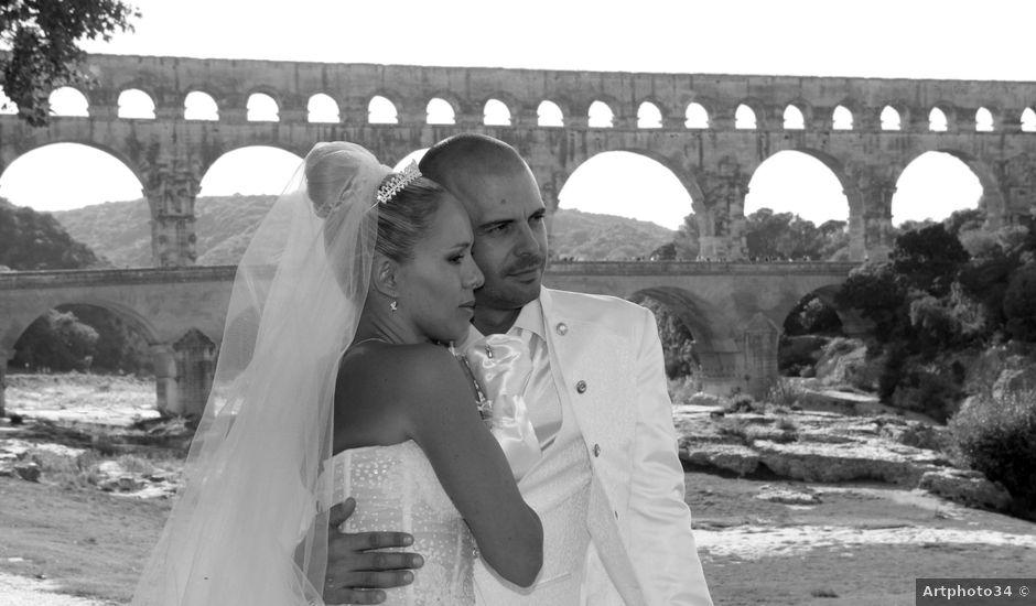 Le mariage de Pascal et Christelle à Redessan, Gard