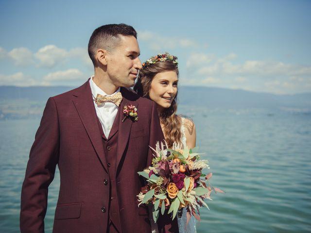 Le mariage de Nelson et Elissa à Estavayer, Fribourg 23