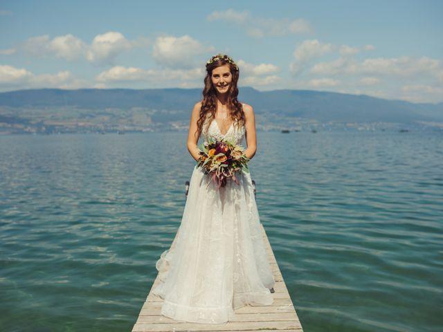 Le mariage de Nelson et Elissa à Estavayer, Fribourg 24