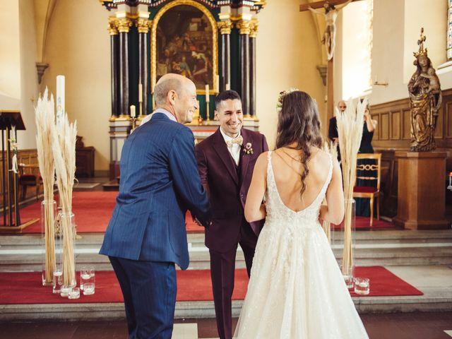 Le mariage de Nelson et Elissa à Estavayer, Fribourg 38