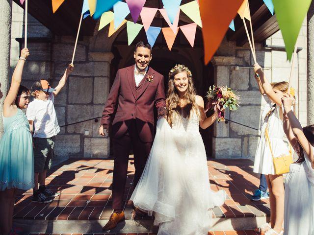 Le mariage de Nelson et Elissa à Estavayer, Fribourg 46