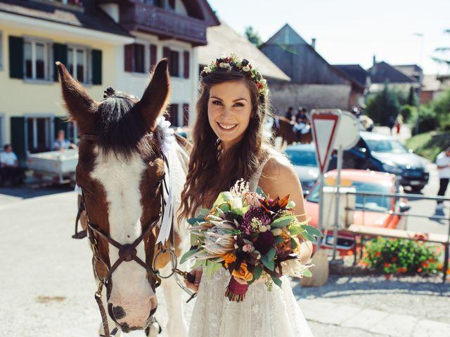 Le mariage de Nelson et Elissa à Estavayer, Fribourg 49
