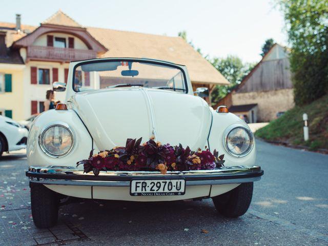Le mariage de Nelson et Elissa à Estavayer, Fribourg 50