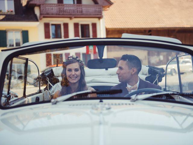 Le mariage de Nelson et Elissa à Estavayer, Fribourg 52
