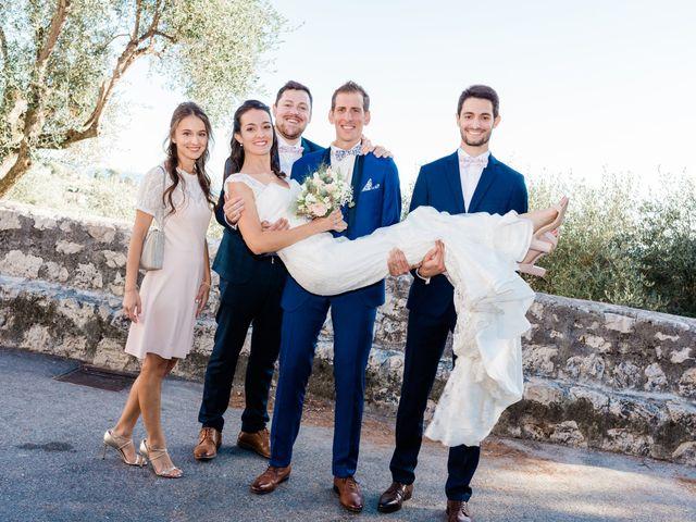 Le mariage de Olivier et Méganne à Falicon, Alpes-Maritimes 37