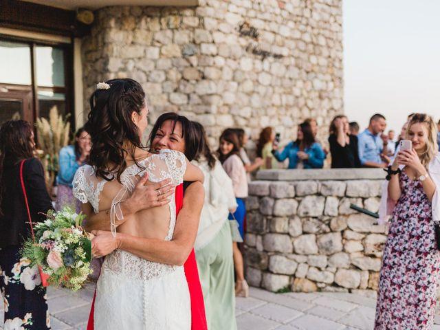 Le mariage de Olivier et Méganne à Falicon, Alpes-Maritimes 52