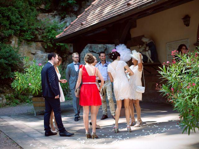 Le mariage de Fabrice et Jessica à Guebwiller, Haut Rhin 14