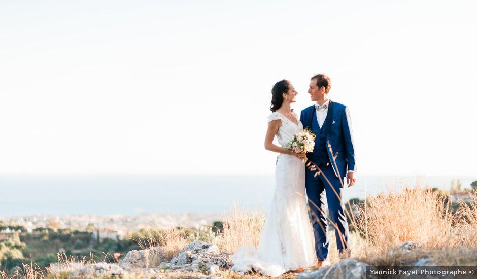 Le mariage de Olivier et Méganne à Falicon, Alpes-Maritimes