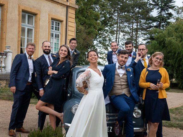 Le mariage de Julien et Marie à Rosey, Saône et Loire 42