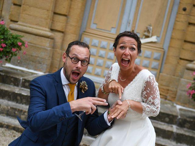 Le mariage de Julien et Marie à Rosey, Saône et Loire 49