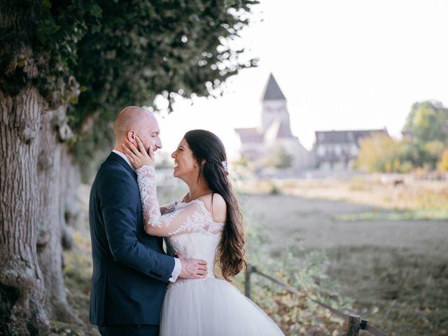Le mariage de Benjamin et Sonia à Montfort-l'Amaury, Yvelines 44