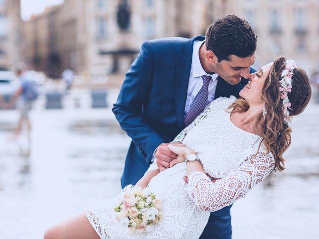 Le mariage de Giovanni et Caroline à Bordeaux, Gironde 13