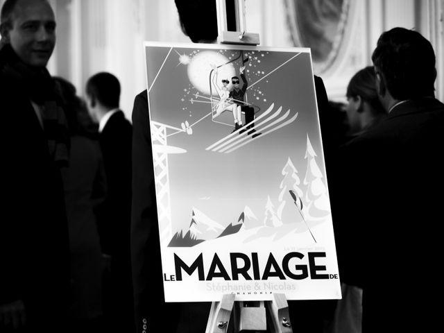 Le mariage de Nicolas et Stéphanie à Chamonix-Mont-Blanc, Haute-Savoie 19