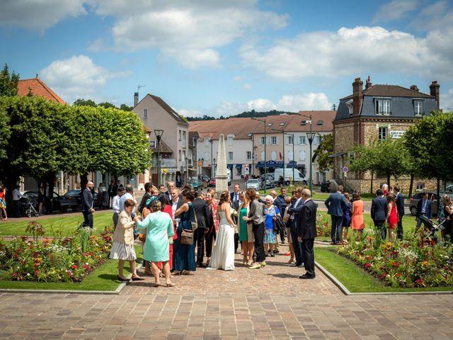 Le mariage de Grégoire et Elsa à Menucourt, Val-d'Oise 2