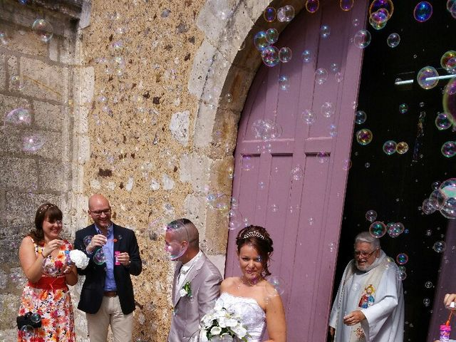 Le mariage de Flavien et Elodie à La Chapelle-du-Noyer, Eure-et-Loir 4