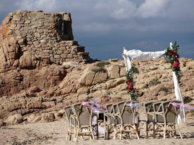 Le mariage de Joel et Any à Sotta, Corse 1