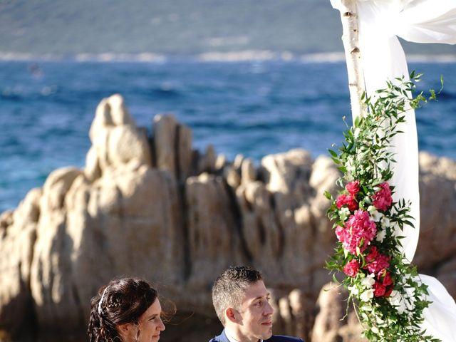 Le mariage de Joel et Any à Sotta, Corse 4