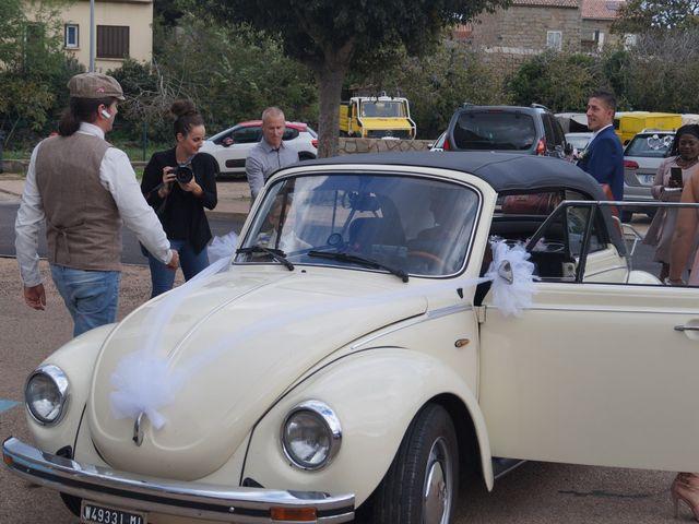Le mariage de Joel et Any à Sotta, Corse 2