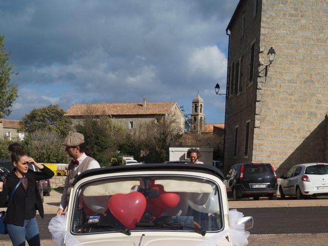 Le mariage de Joel et Any à Sotta, Corse 8
