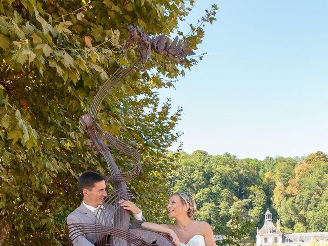 Le mariage de Alexandre et Leititia à Brantôme, Dordogne 14