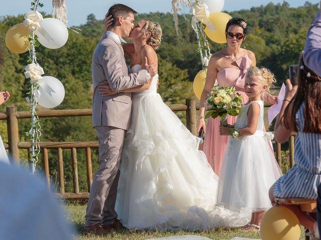 Le mariage de Alexandre et Leititia à Brantôme, Dordogne 22
