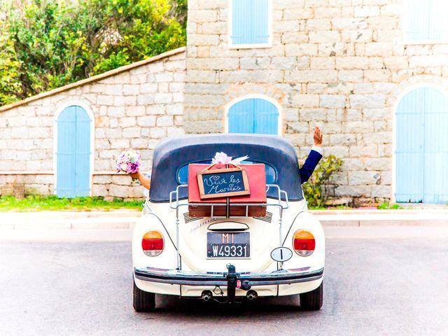 Le mariage de Joel et Any à Sotta, Corse 15