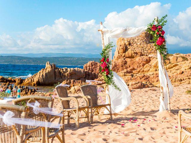 Le mariage de Joel et Any à Sotta, Corse 16
