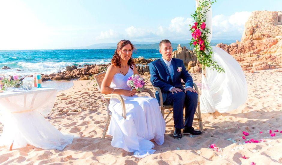 Le mariage de Joel et Any à Sotta, Corse