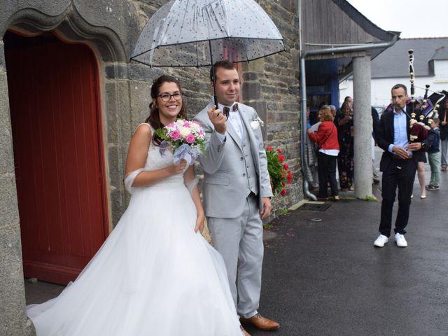 Le mariage de Florent et Anna à Hanvec, Finistère 2