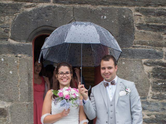 Le mariage de Florent et Anna à Hanvec, Finistère 7