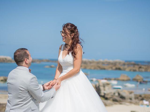 Le mariage de Florent et Anna à Hanvec, Finistère 41