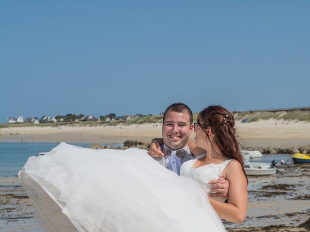 Le mariage de Florent et Anna à Hanvec, Finistère 42