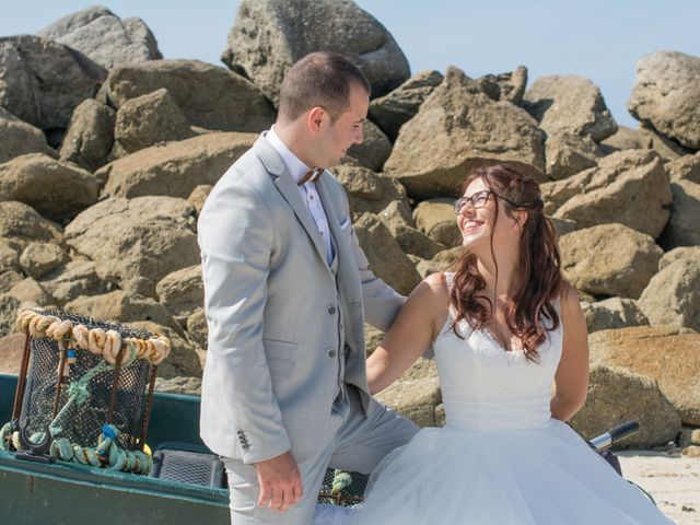 Le mariage de Florent et Anna à Hanvec, Finistère 43
