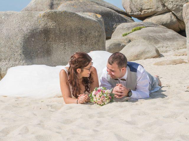 Le mariage de Florent et Anna à Hanvec, Finistère 47