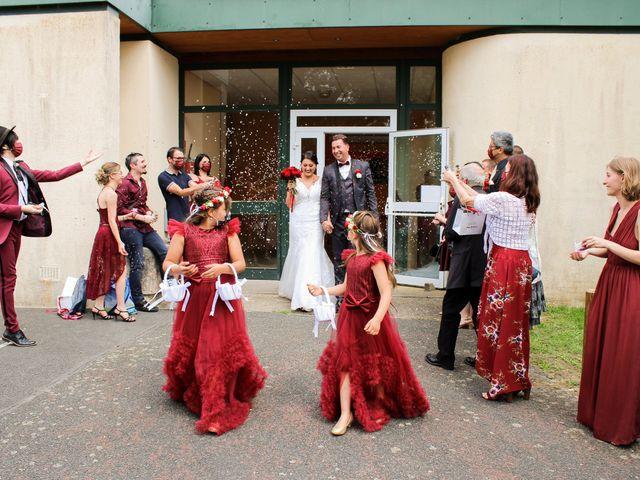 Le mariage de Hedi et Inès à Châtres-sur-Cher, Loir-et-Cher 45