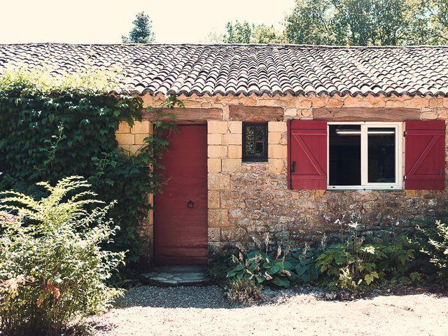 Le mariage de Fred et Ély à Badefols-sur-Dordogne, Dordogne 3