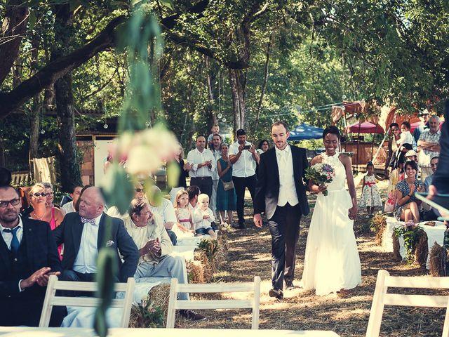 Le mariage de Fred et Ély à Badefols-sur-Dordogne, Dordogne 6