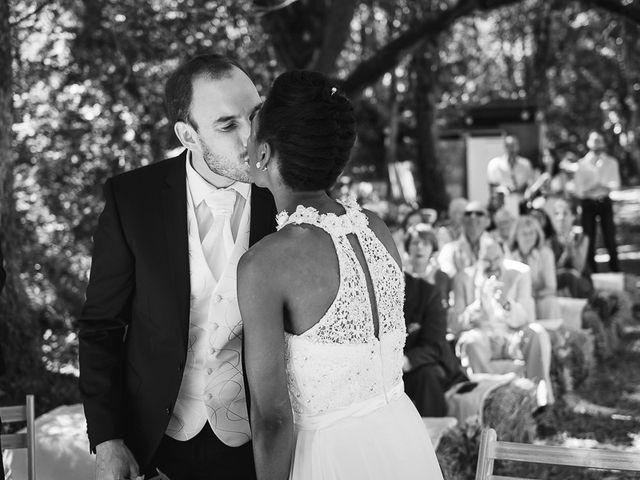 Le mariage de Fred et Ély à Badefols-sur-Dordogne, Dordogne 9