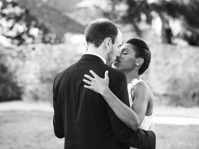 Le mariage de Fred et Ély à Badefols-sur-Dordogne, Dordogne 15