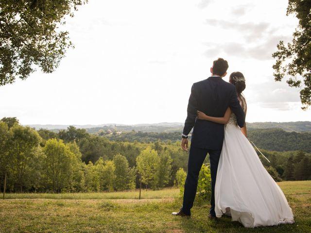 Le mariage de Vincent et Cécilia à Peyrillac-et-Millac, Dordogne 24