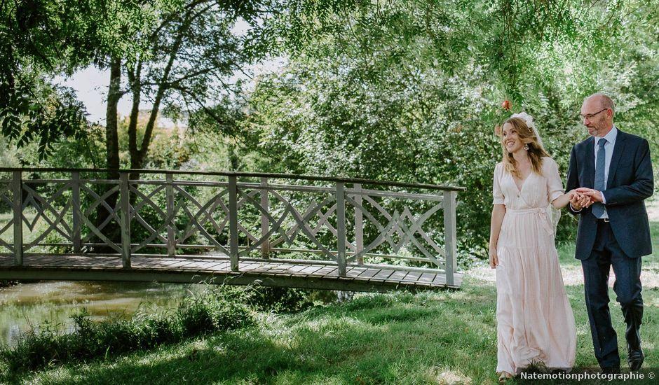 Le mariage de Antoine et Marine à Saint-Ellier, Maine et Loire