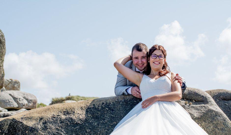 Le mariage de Florent et Anna à Hanvec, Finistère