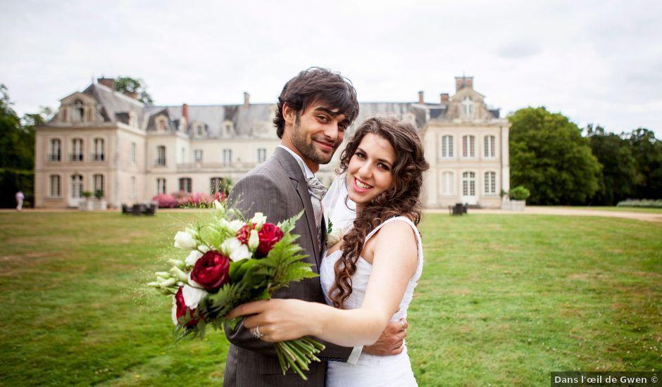 Le mariage de Louis et Agnès à Le Lion-d'Angers, Maine et Loire