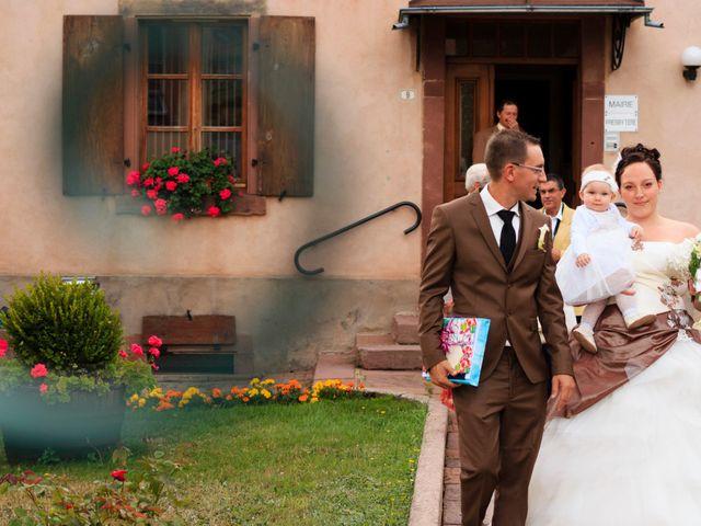 Le mariage de Olivier et Mélanie à Steige, Bas Rhin 5